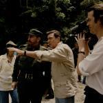 Picture 1 - Fidel Castro and Dan Rather in Cuba