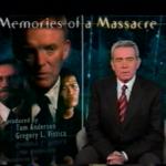 "Still Image - Title shot of CBS's ""Memories of a Massacre"""