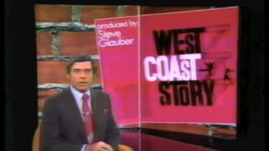 "Still image from the opening of ""West Coast Story"""
