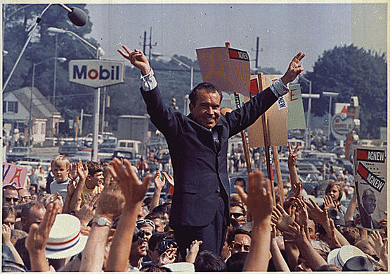 Richard M. Nixon 1968 Presidential Election Campaign.