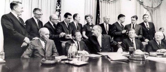 President Johnson and the Kerner Commission