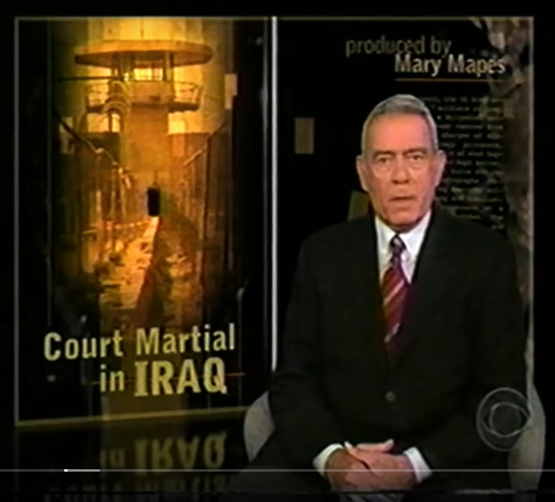 """Still Image - Opening of """"Court Martial in Iraq (Abu Ghraib)"""""""