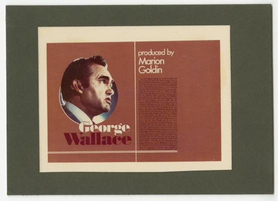 "Title Card - ""George Wallace"""