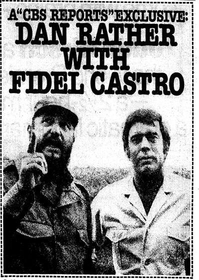 "Advertisement - ""Castro, Cuba and the U.S.A."""